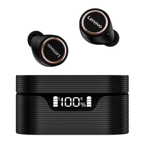 Lenovo LivePods LP12 vezeték nélküli fülhallgató -  zajszűrés, töltöttség kijelzés, IPX5, 30 óra működés