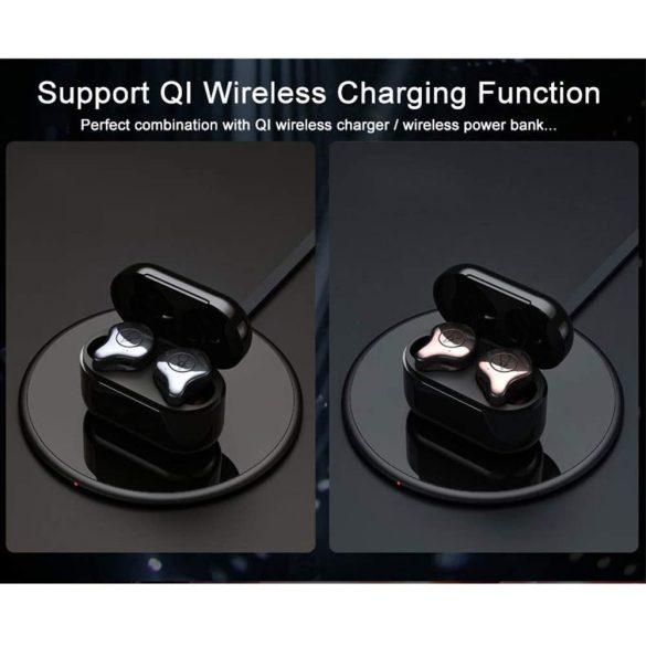Sabbat E12 Ultra, arany - TWS Bluetooth 5.0 HD hangélmény, vezeték nélküli töltés