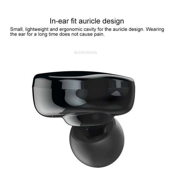 Sabbat E12 Ultra, szürke - TWS Bluetooth 5.0 HD hangélmény, vezeték nélküli töltés