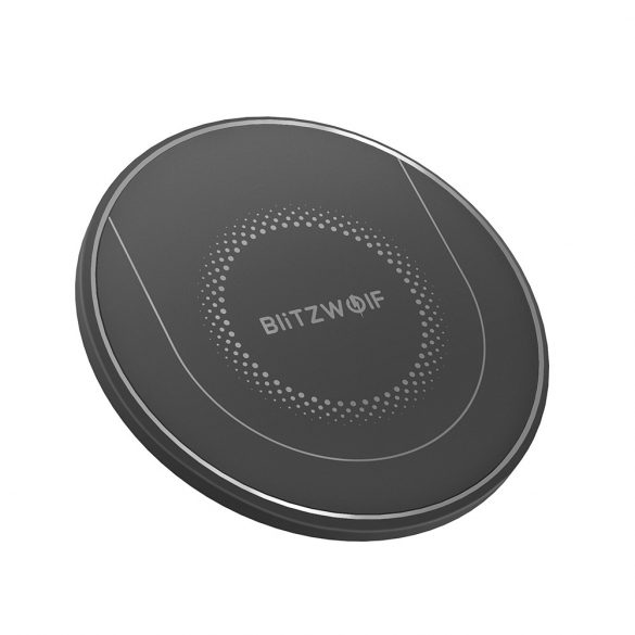 BlitzWolf® BW-FWC7 - 15W/10W/7.5W/5W-os vezeték nélküli gyorstöltő minden QI szabványt támogató telefonhoz