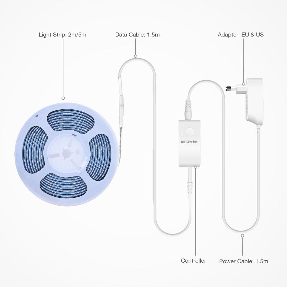 Okos (smart) LED csík világítás