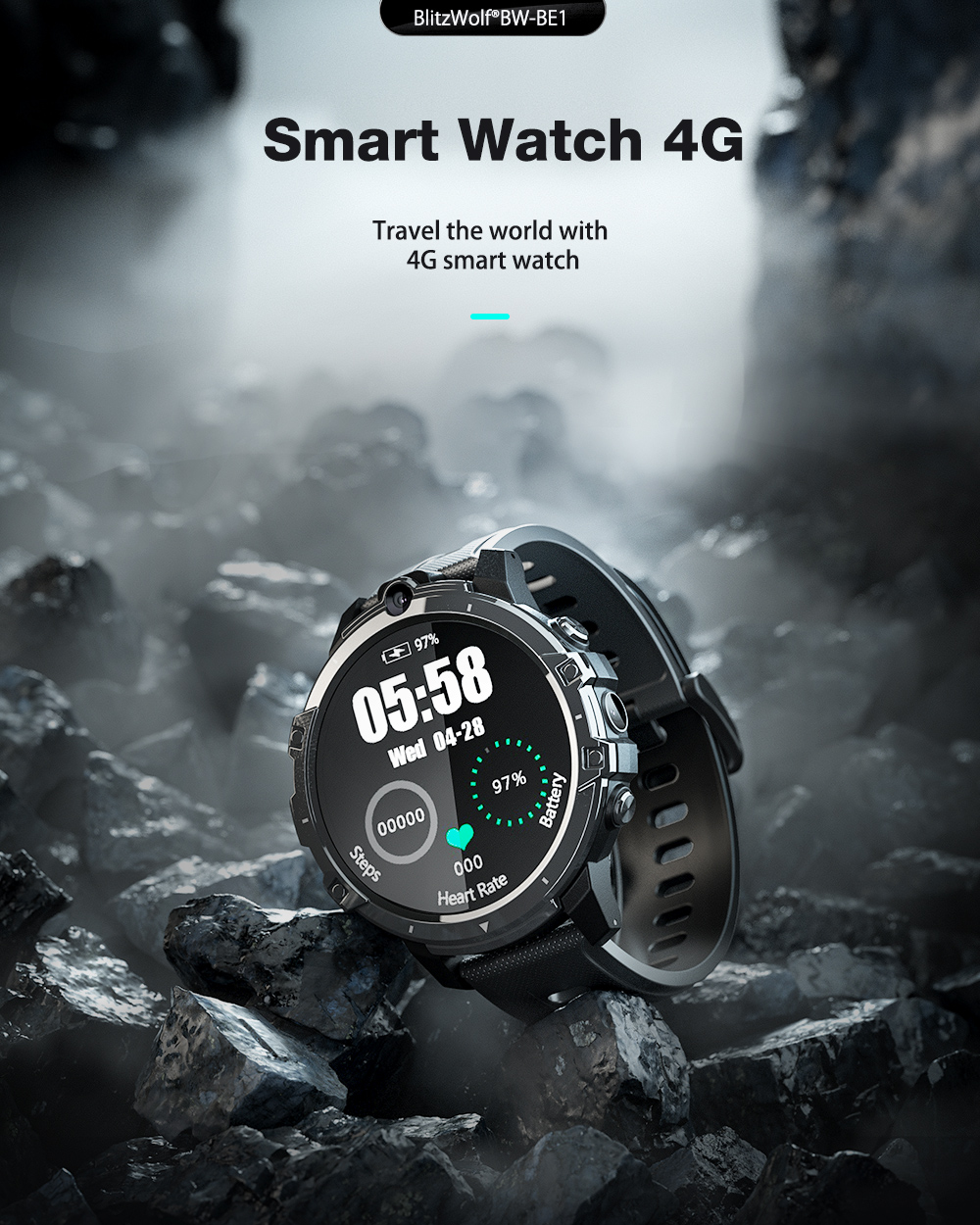 Blitzwolf BW-BE1 Android smart watch