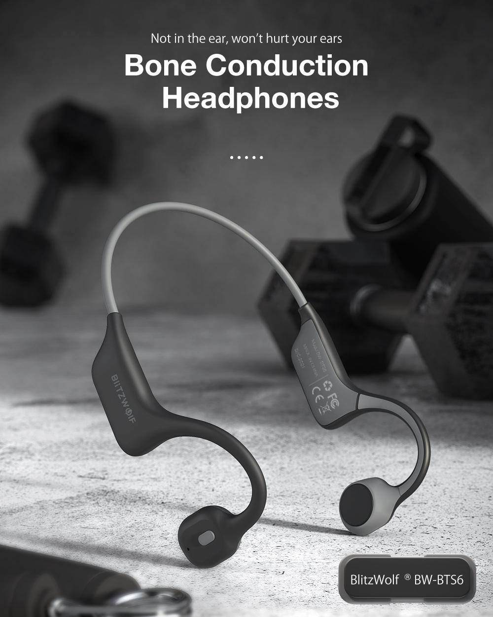 Blitzwolf BW-BTS6 Bone conduction headphone
