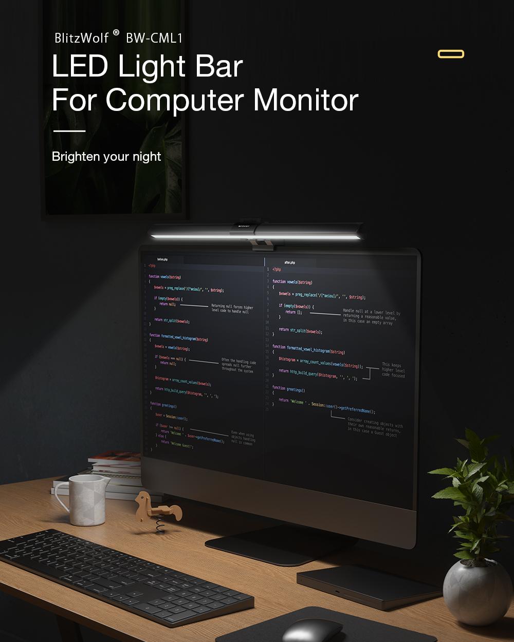 Blitzwolf CML1 Monitor világító lámpa