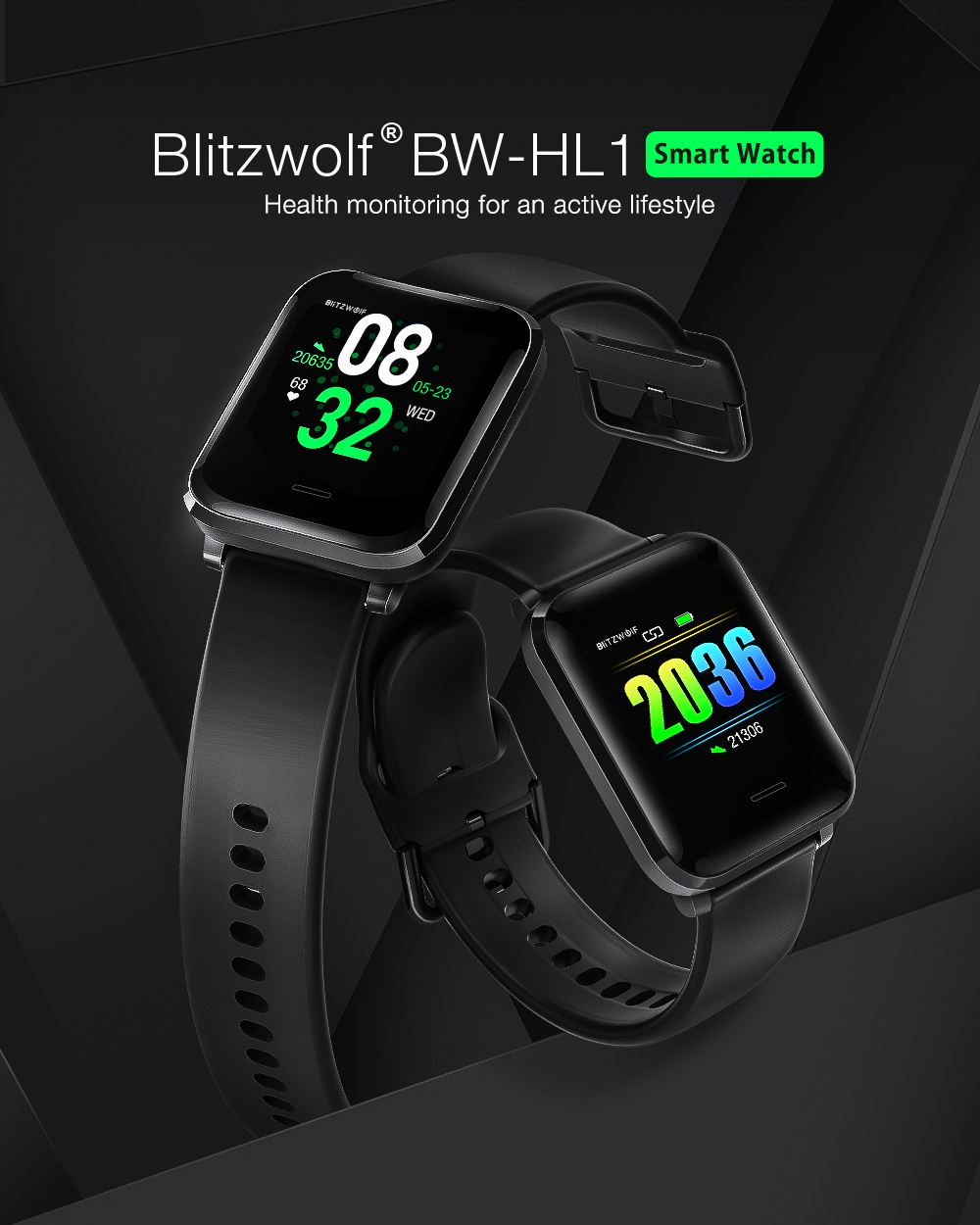 BlitzWolf BW-HL1 okos óra  - smart watch