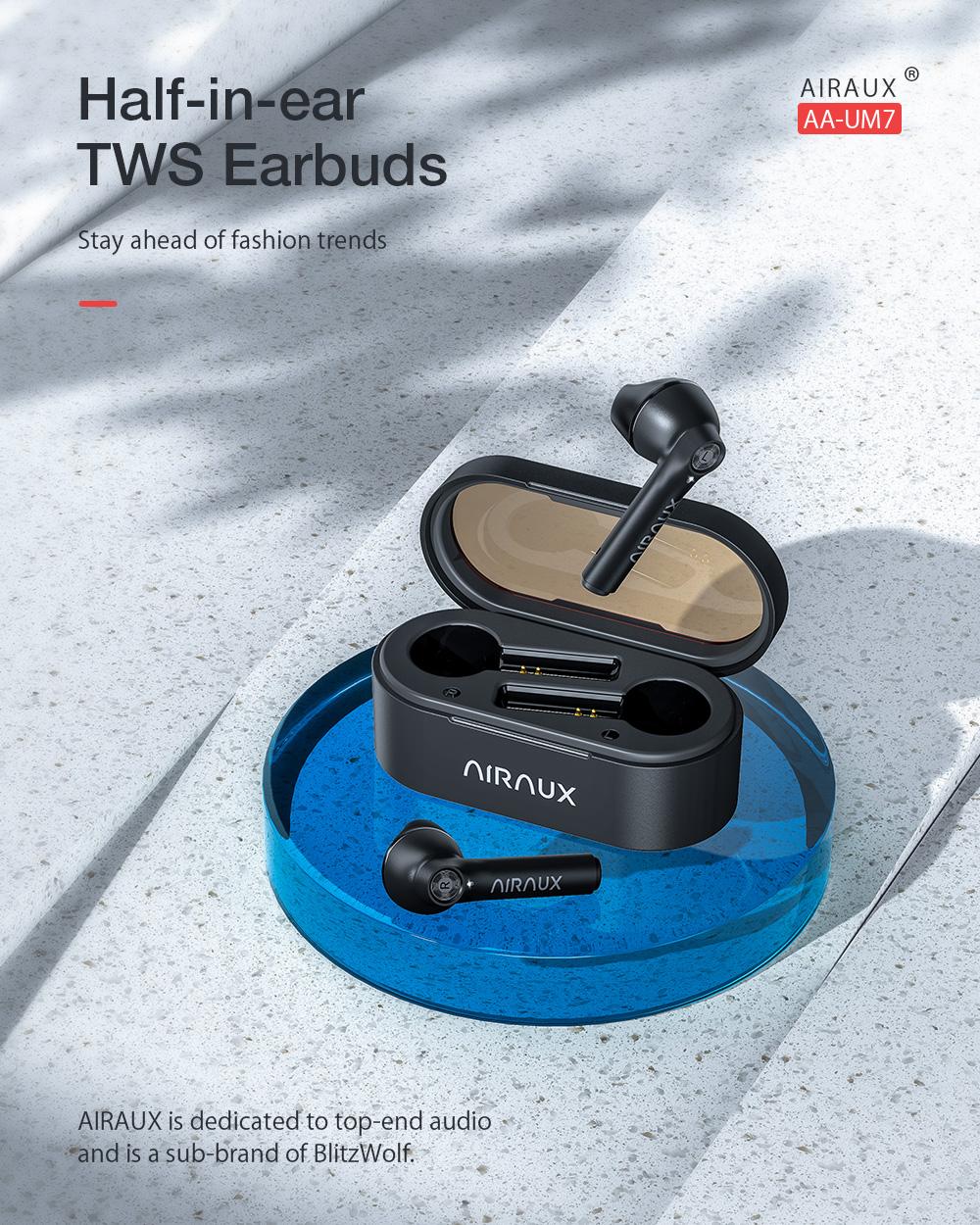 BlitzWolf® AirAux AA-UM7 fülhallgató