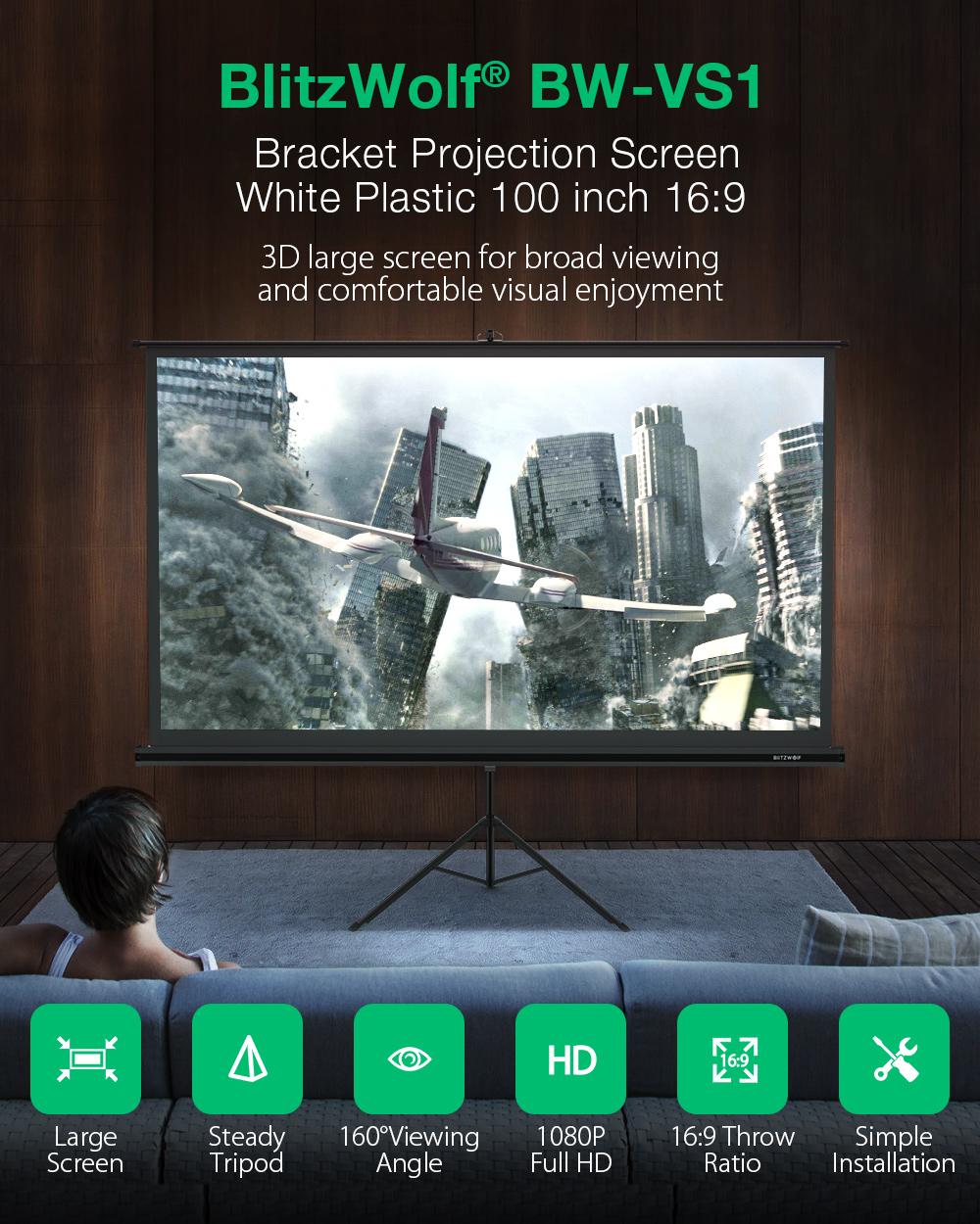 Blitzwolf BW-VS1 - projektor állvány